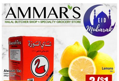 Ammar's Halal Meats Flyer May 14 to 19