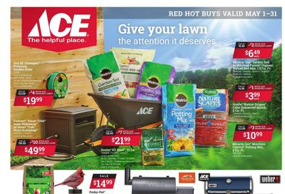 ACE Hardware Weekly Ad Flyer May 1 to May 31