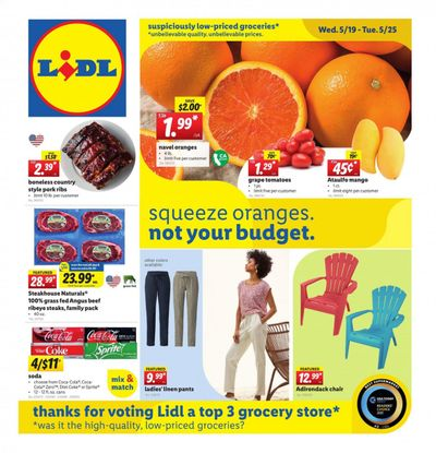 Lidl (GA, MD, NC, NJ, PA, SC, VA) Weekly Ad Flyer May 19 to May 25