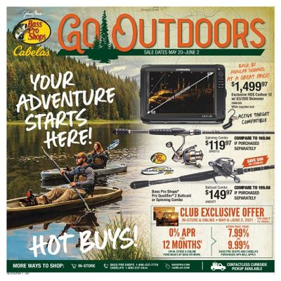 Bass Pro Shops Weekly Ad Flyer May 20 to June 2