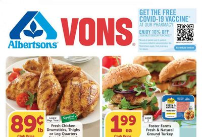 Vons (CA) Weekly Ad Flyer May 19 to May 25