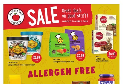 Nature's Fare Markets Flyer March 12 to April 1