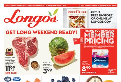 Longo's Flyer May 20 to June 2
