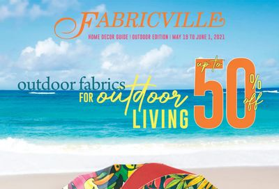 Fabricville Flyer May 19 to June 1