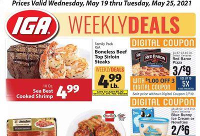 IGA Weekly Ad Flyer May 19 to May 25