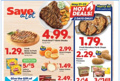 Save a Lot Weekly Ad Flyer May 19 to May 25