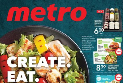 Metro (ON) Create. Eat. Repeat. May 20 to June 16