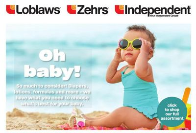Loblaws (ON) Baby Insert May 20 to June 2
