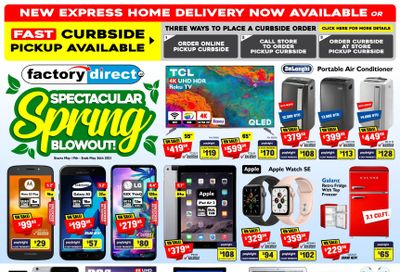 Factory Direct Flyer May 19 to 26