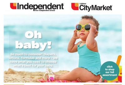 Loblaws City Market (West) Baby Insert May 20 to June 2