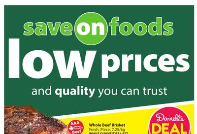 Save on Foods (AB) Flyer May 20 to 26