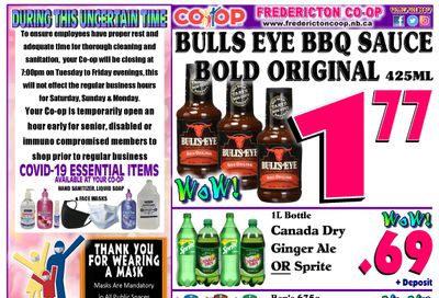 Fredericton Co-op Flyer May 20 to 26