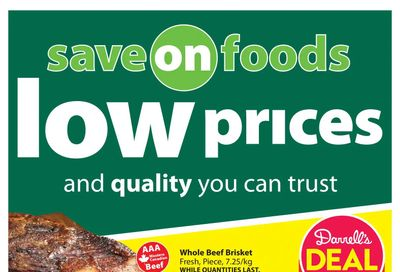 Save on Foods (SK) Flyer May 20 to 26