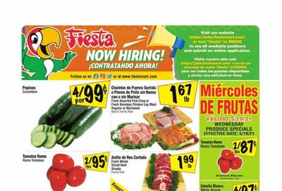 Fiesta Mart (TX) Weekly Ad Flyer May 19 to May 25