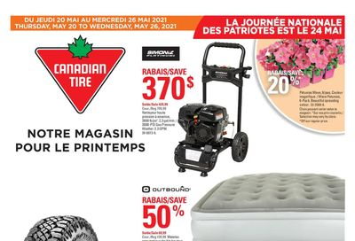 Canadian Tire (QC) Flyer May 20 to 26
