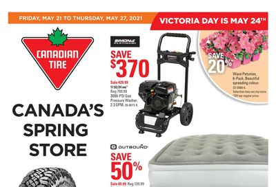 Canadian Tire (Atlantic) Flyer May 21 to 27