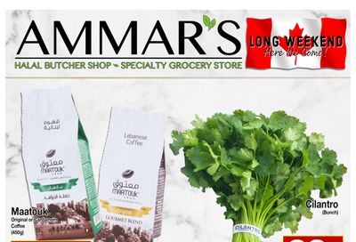 Ammar's Halal Meats Flyer May 20 to 26