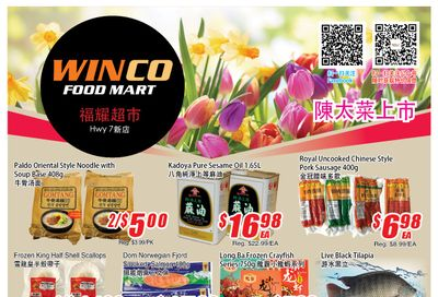 WinCo Food Mart (HWY 7) Flyer May 20 to 26