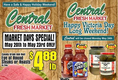 Central Fresh Market Flyer May 20 to 27