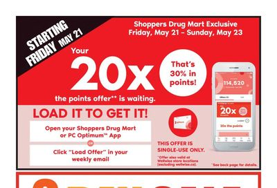 Shoppers Drug Mart (West) Flyer May 22 to 27