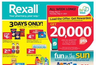 Rexall (West) Flyer May 21 to 27