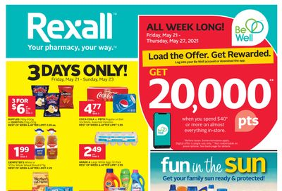 Rexall (ON) Flyer May 21 to 27