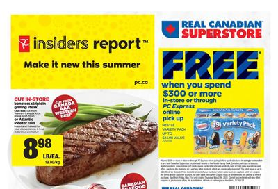 Real Canadian Superstore (West) Flyer May 21 to 27