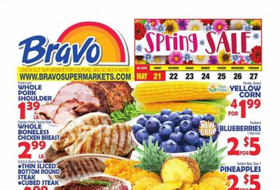 Bravo Supermarkets (CT, FL, MA, NJ, NY, PA) Weekly Ad Flyer May 21 to May 27