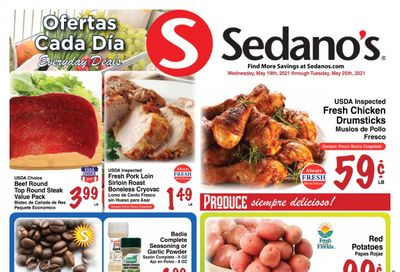 Sedano's (FL) Weekly Ad Flyer May 19 to May 25