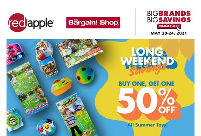 The Bargain Shop & Red Apple Stores Flyer May 20 to 24