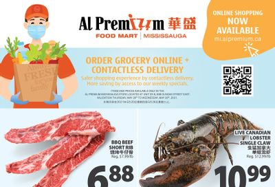 Al Premium Food Mart (Mississauga) Flyer May 20 to 26
