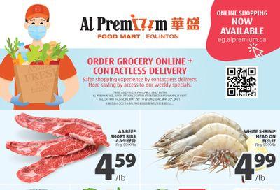 Al Premium Food Mart (Eglinton Ave.) Flyer May 20 to 26