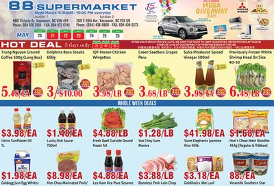 88 Supermarket Flyer May 20 to 26