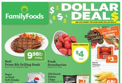 Family Foods Flyer May 21 to 27