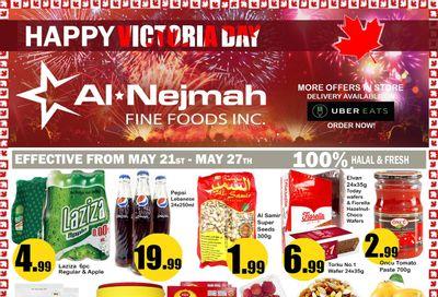 Alnejmah Fine Foods Inc. Flyer May 21 to 27