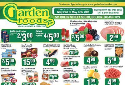 Garden Foods Flyer May 21 to 27