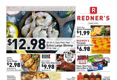 Redner's Markets (DE, MD, PA) Weekly Ad Flyer May 20 to May 26
