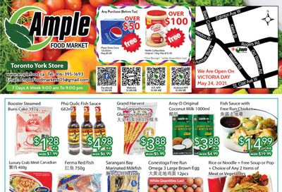 Ample Food Market (North York) Flyer May 21 to 27