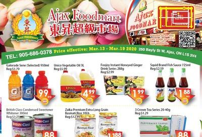 Ajax Foodmart Flyer March 13 to 19