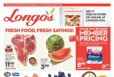 Longo's Flyer May 27 to June 2