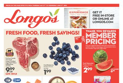 Longo's (Ancaster & Liberty Village) Flyer May 27 to June 2