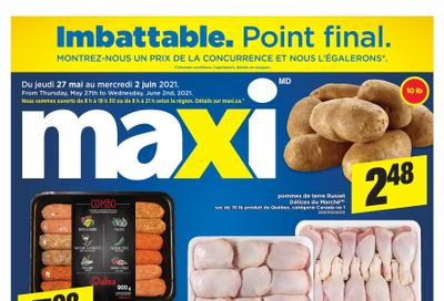 Maxi Flyer May 27 to June 2