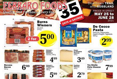 Ferraro Foods Flyer May 25 to June 28