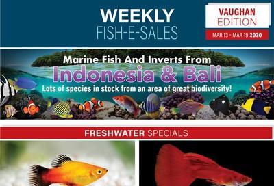 Big Al's (Vaughan) Weekly Specials March 13 to 19