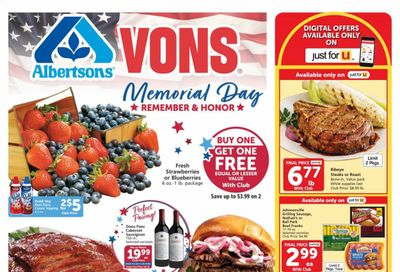 Vons (CA) Weekly Ad Flyer May 26 to June 1