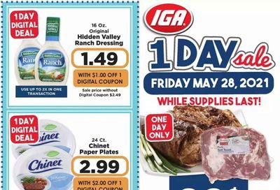 IGA Weekly Ad Flyer May 28 to May 28
