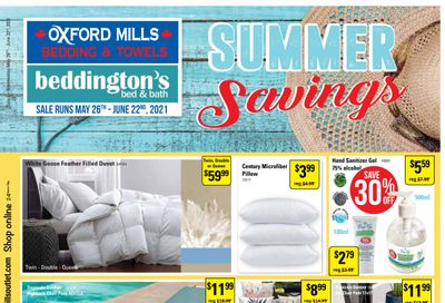 Beddington's Flyer May 26 to June 22