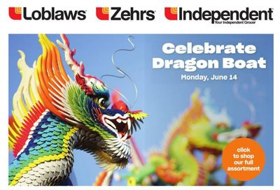 Loblaws (ON) Celebrate Dragon Boat Flyer May 27 to June 16
