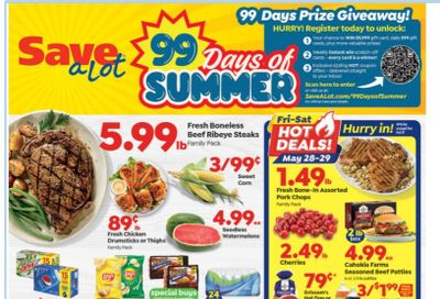 Save a Lot Weekly Ad Flyer May 26 to June 1