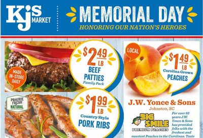 KJ´s Market (GA, SC) Weekly Ad Flyer May 26 to June 1